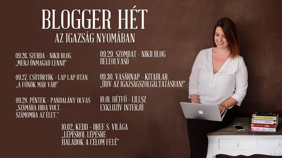 Blogger hét 2018