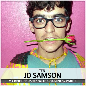JD Samson looks like a boy