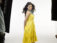 Samantha In Yellow Dress