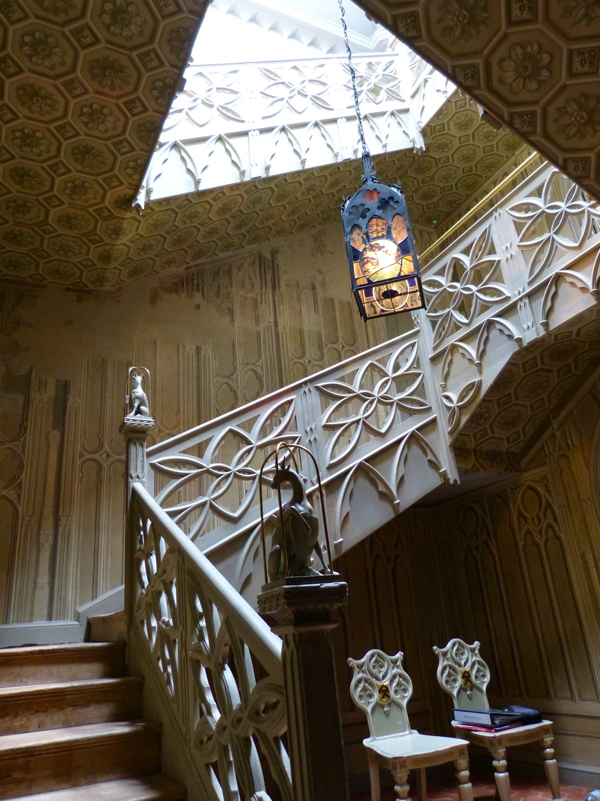 Staircase, Entrance Hall, Strawberry Hill