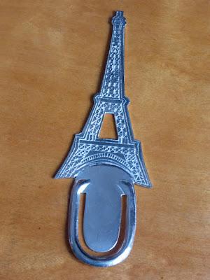 Flache Eiffelturmminiatur