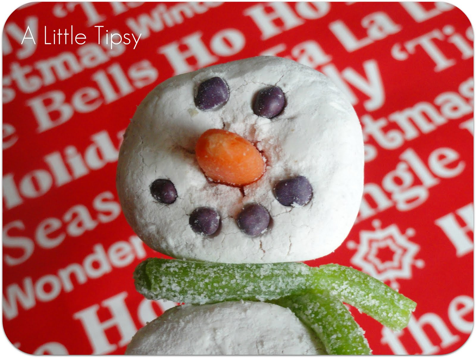Donut Snowman On A Stick Once There Was A Snowman Snowman Snowman