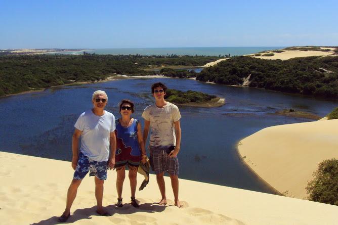 Antonio, Pilar y Nicolás  de Montevideo/ Uruguay