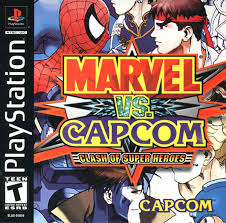 Free Downlaod Games Marvel vs. Capcom Clash of Super Heroes ps1 iso ZGASPC