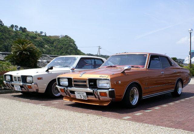 Nissan Cedric, Gloria, 330, klasyki motoryzacji, dawne auta, stary japoński samochód, galeria, zdjęcia, jdm
