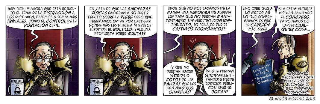 """#033 Ley de """"Seguridad"""" Ciudadana"""