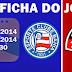Ficha do jogo: Bahia 1x1 Vitória - Campeonato Brasileiro 2014