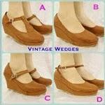 Wedges Vintage