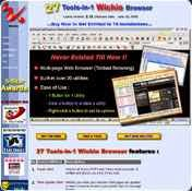 27 Tools-in-1 Wichio Browser