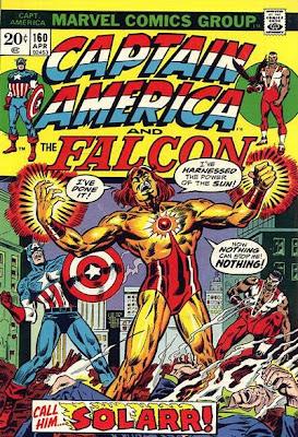 Captain America and the Falcon #160, Solarr