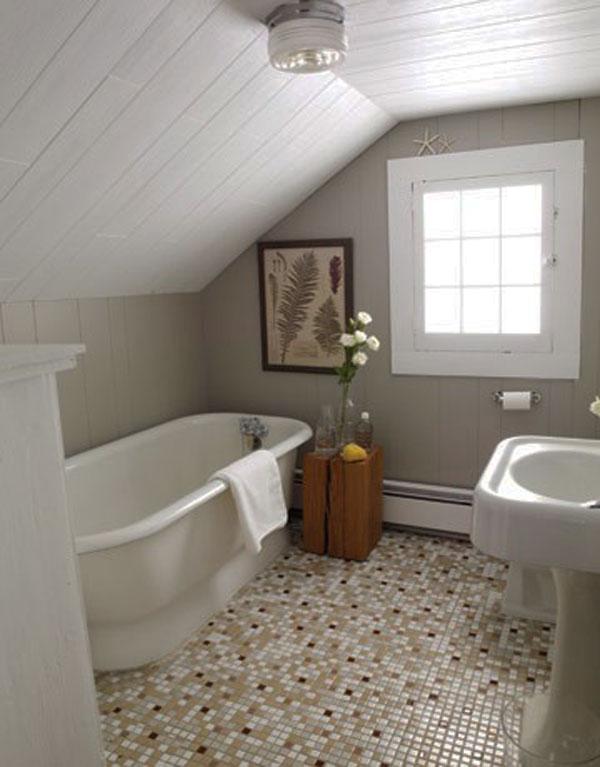 Hogares frescos 30 ideas para cuartos de ba os peque os y - Ideas de cuartos de bano ...