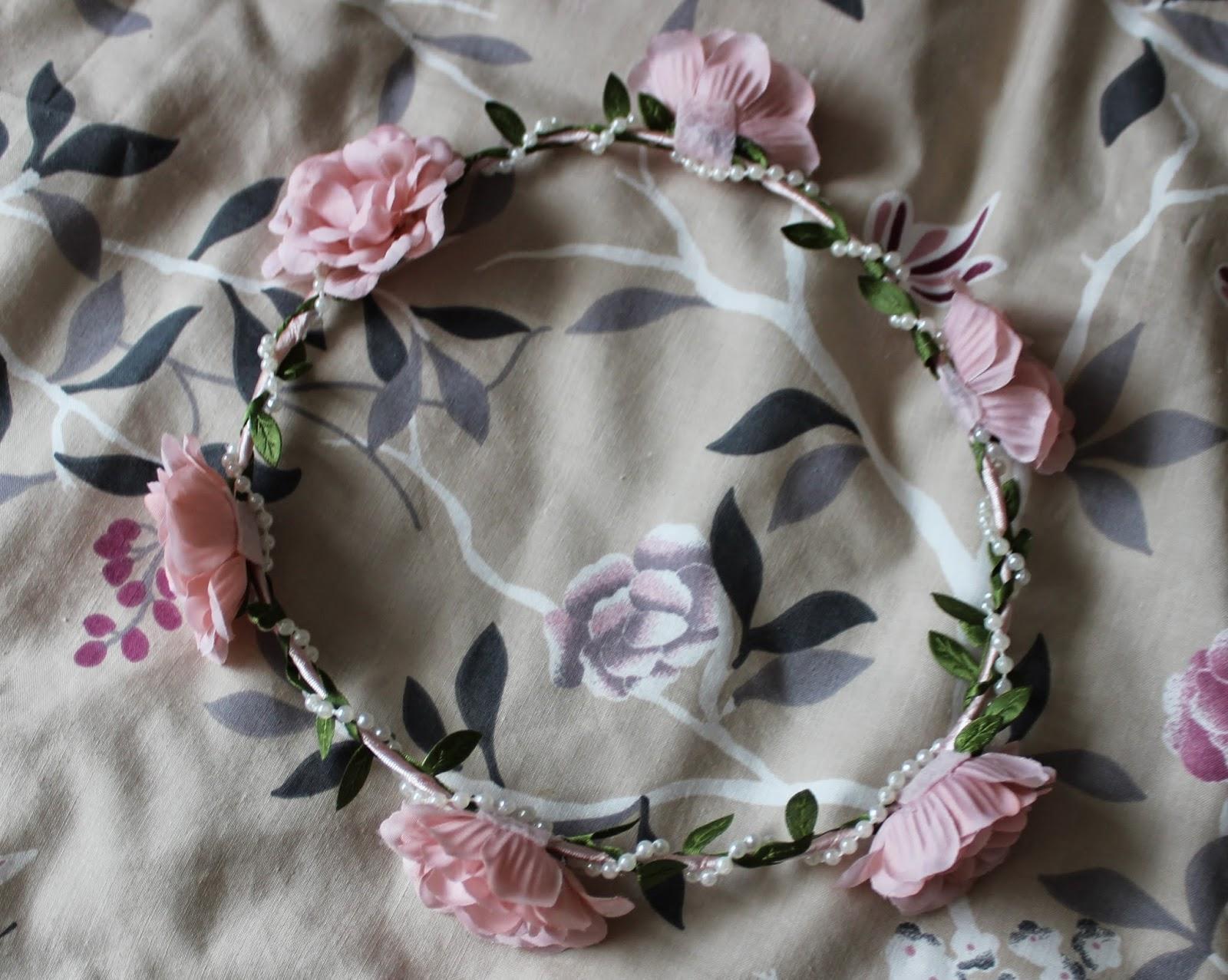 primark flower crown