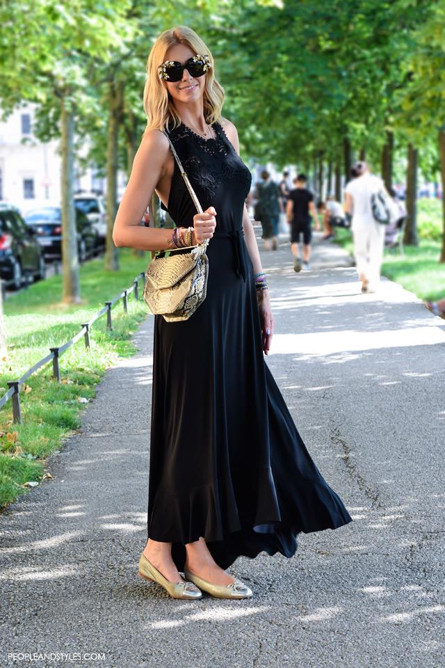 Street style look modna dizajnerica Alex Dojčinović, Lei Lou