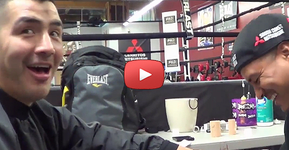 "Brandon Rios: ""When I Fought Pacquiao I Saw Three Manny's In Ring"" (VIDEO)"