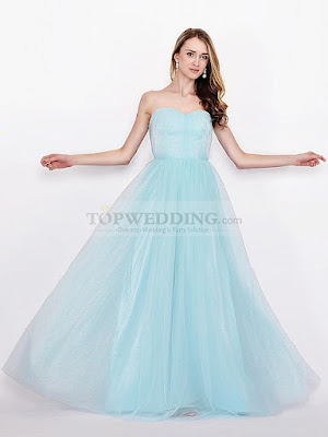 SWEETHEART TULLE CONVERTIBLE BRIDESMAID DRESS IN FLOOR LENGTH -1