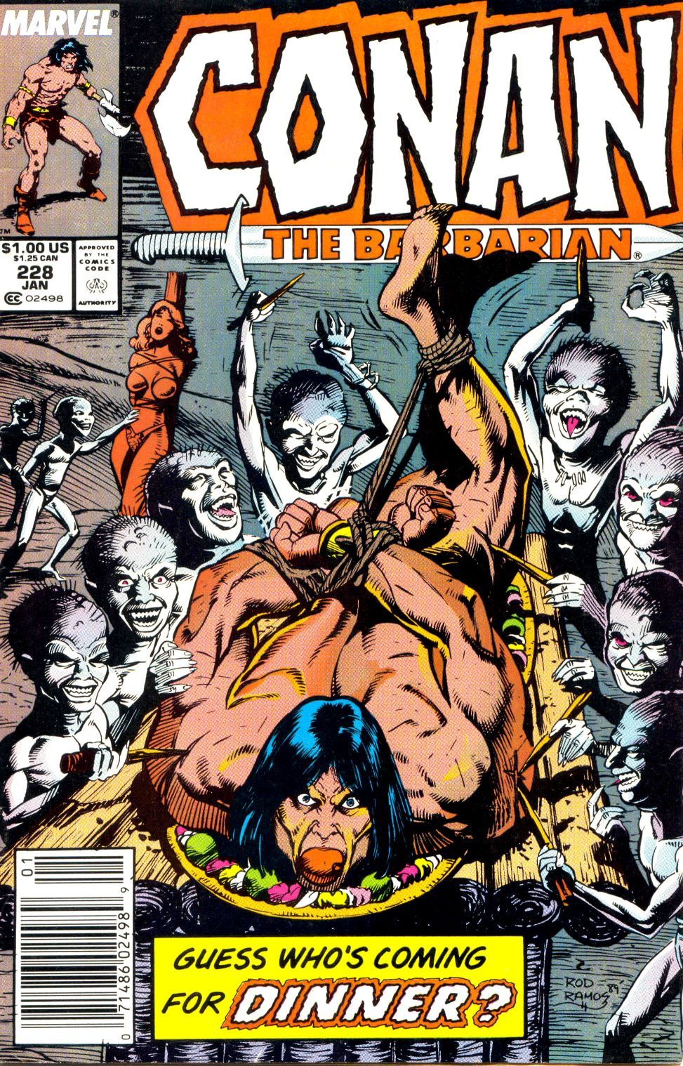 Conan the Barbarian (1970) Issue #228 #240 - English 1