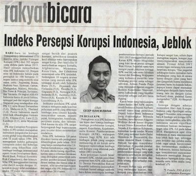 IPK Indonesia, Jeblok, Cecep Husni Mubarok, Rakyat Cirebon