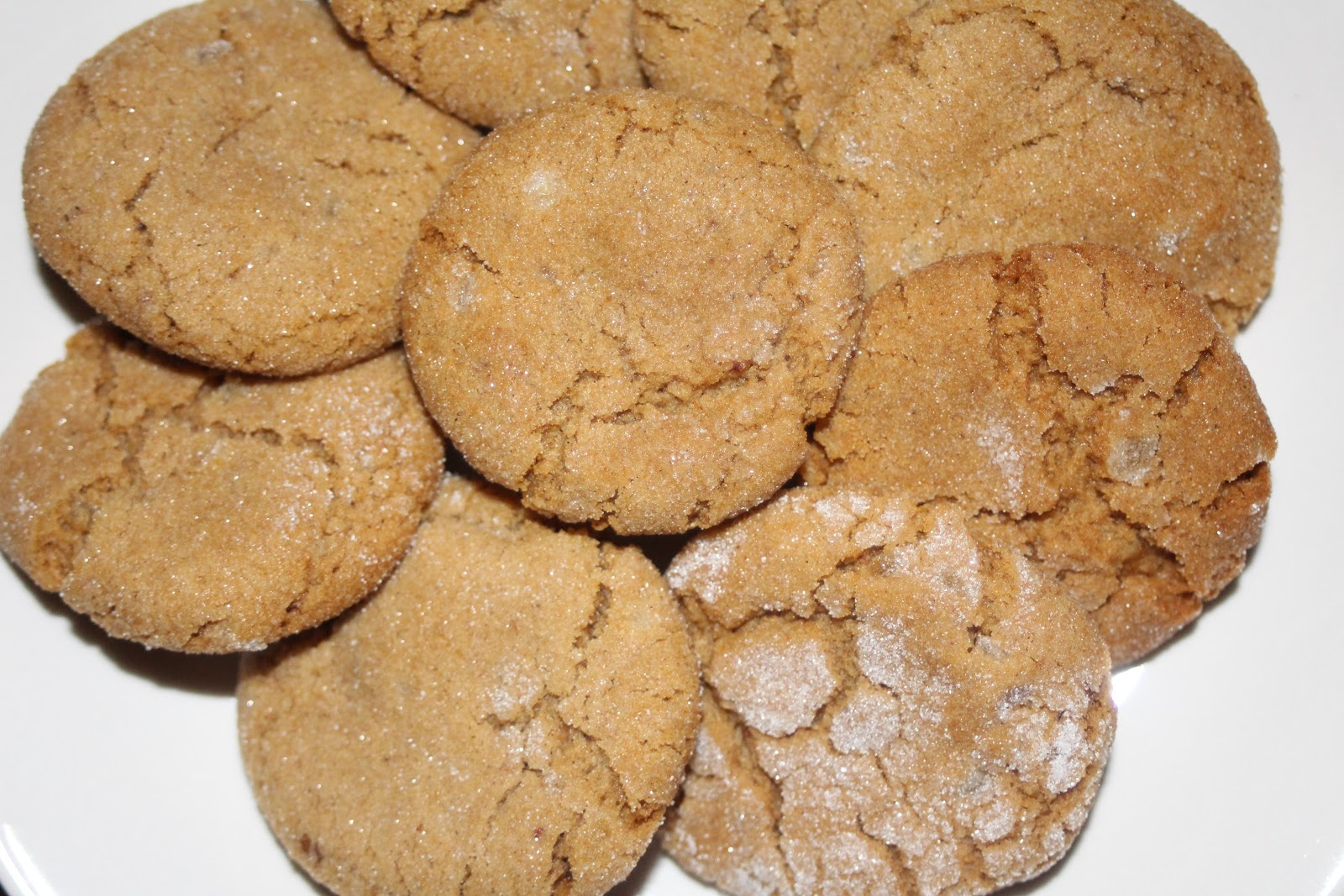 Julie Bakes: Triple ginger cookies