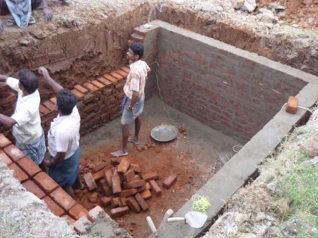 Shalom home india november 2013 for How to build a septic system