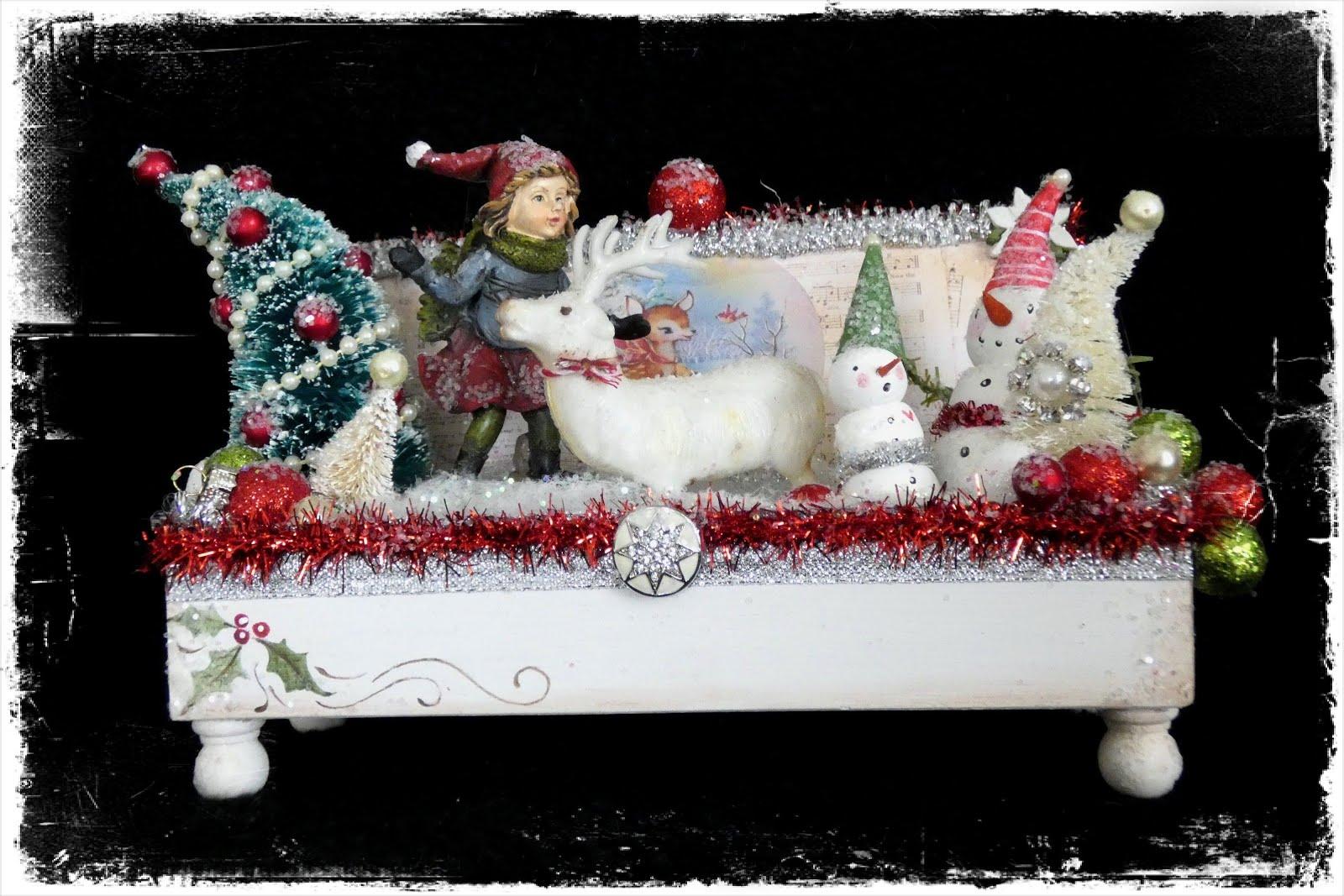 Snowman Sparkle Box