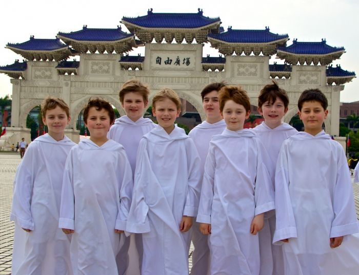 Libera boys in Taiwan