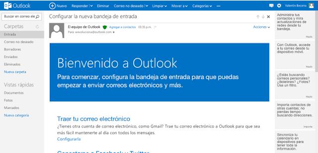 Microsoft lanza Outlook.com, su nuevo servicio de mensajería