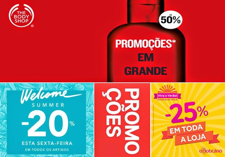 Promoções Saldos Verão 2014