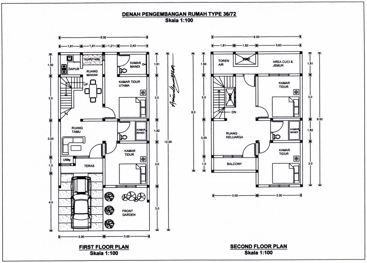 Home Design Interior Singapore Renovasi Rumah Type 36 72