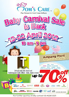 Mom's Care Baby Carnival Sale 2012