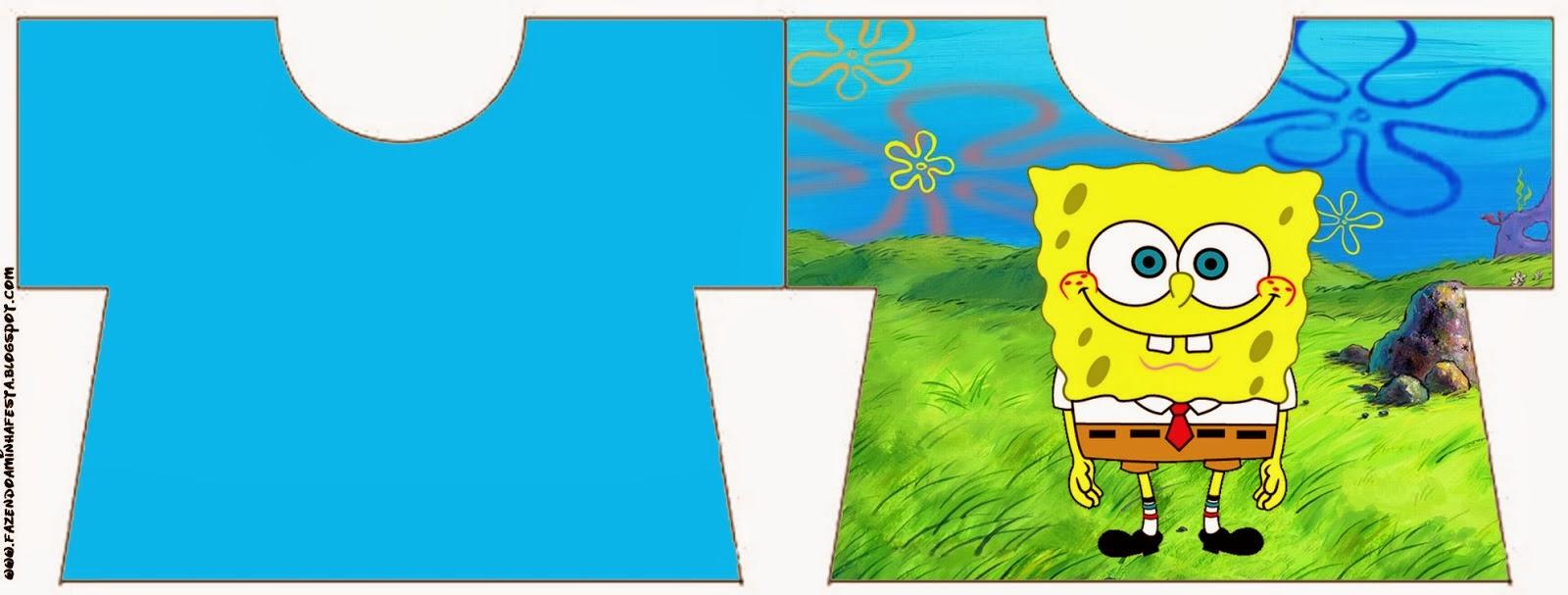 SpongeBob SquarePants Free Printable Cards And Invitations Is - Birthday invitation spongebob background