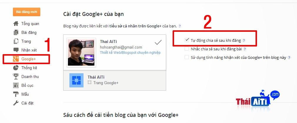 Đưa bài viết Blogspot lên Google Search cực nhanh với Google +