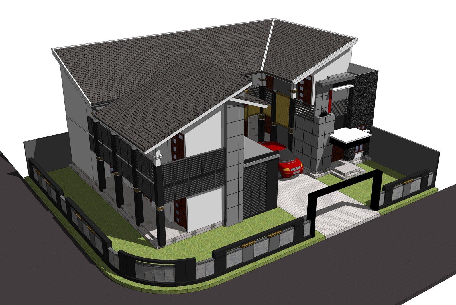 Prinsip desain rumah sudut (hoek) atau rumah pojok. Memiliki rumah sendiri itu idaman setiap orang. Apalagi kalau lokasinya ada di hook.