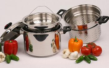 Como cocinar comida al vapor aprender recetas y trucos for Recipientes para cocinar al vapor