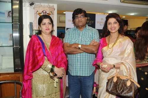 Famous Celebs at Gudi Padwa Celebrations of Popley Group Event Photos