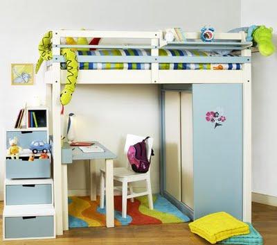 Decora el hogar dise a y decora modernas camas para los - Camas modernas para ninos ...