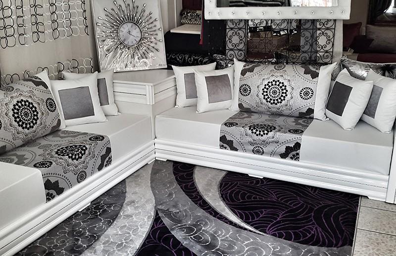 Salon Marocain Blanc Et Argent Image Gallery - HCPR