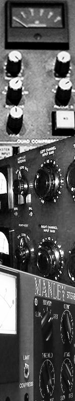 Bus Compressor(バスコンプ)を少しだけ聞き比べてみました
