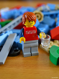 lego beach house - meet dax