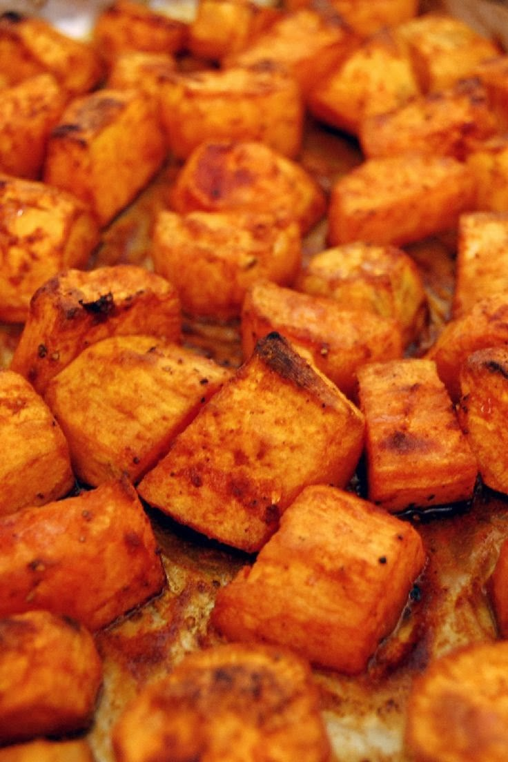 Roasted Sweet Potatoes with Honey and Cinnamon | Boy Meets ...