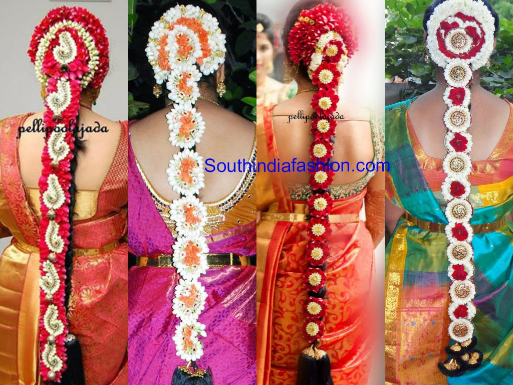 south indian bridal hair styles
