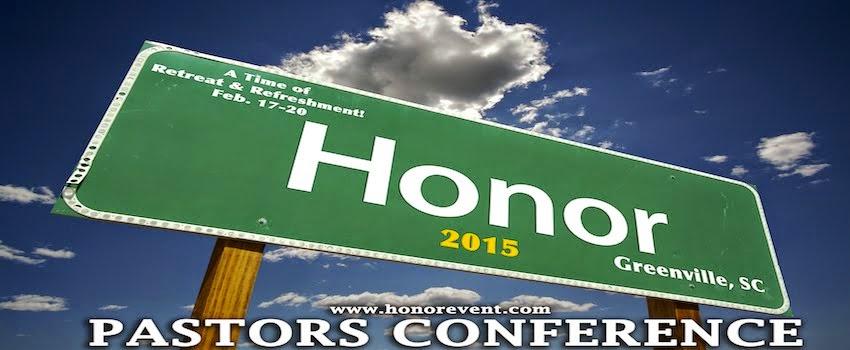 HONOR PASTORS EVENT
