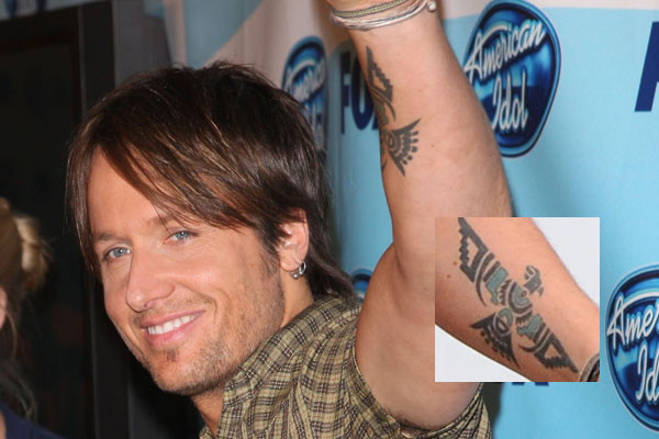 keith urban haircut. Keith Urban Tattoos
