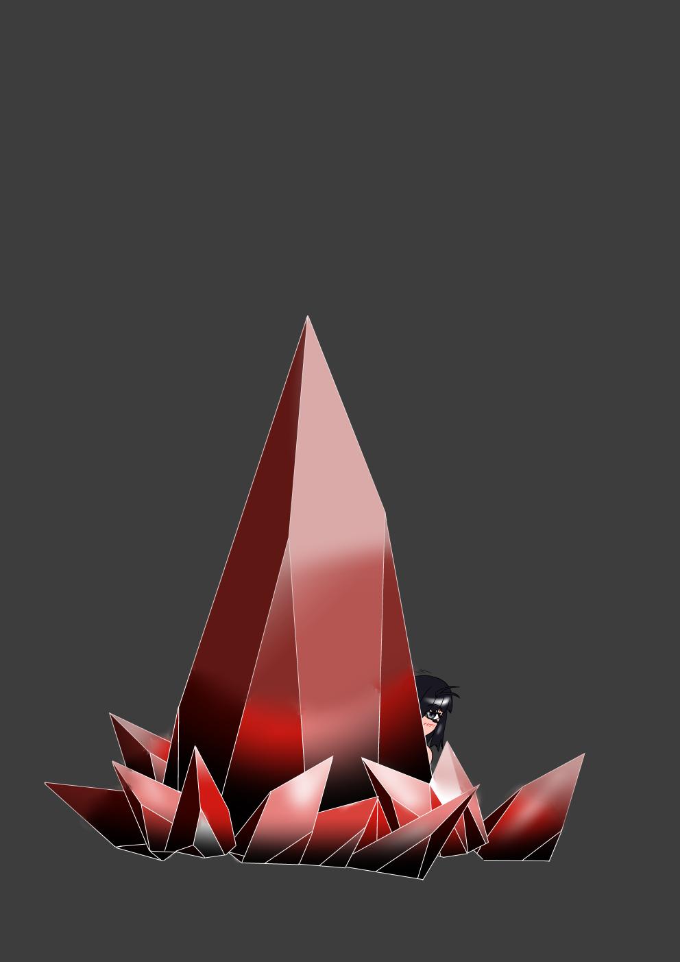 水晶の描き方練習その2(八雲楓)別Ver
