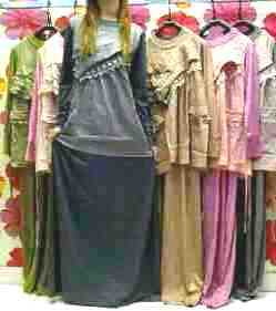 Capria Outlet Gamis OMG Nicky Kerudung