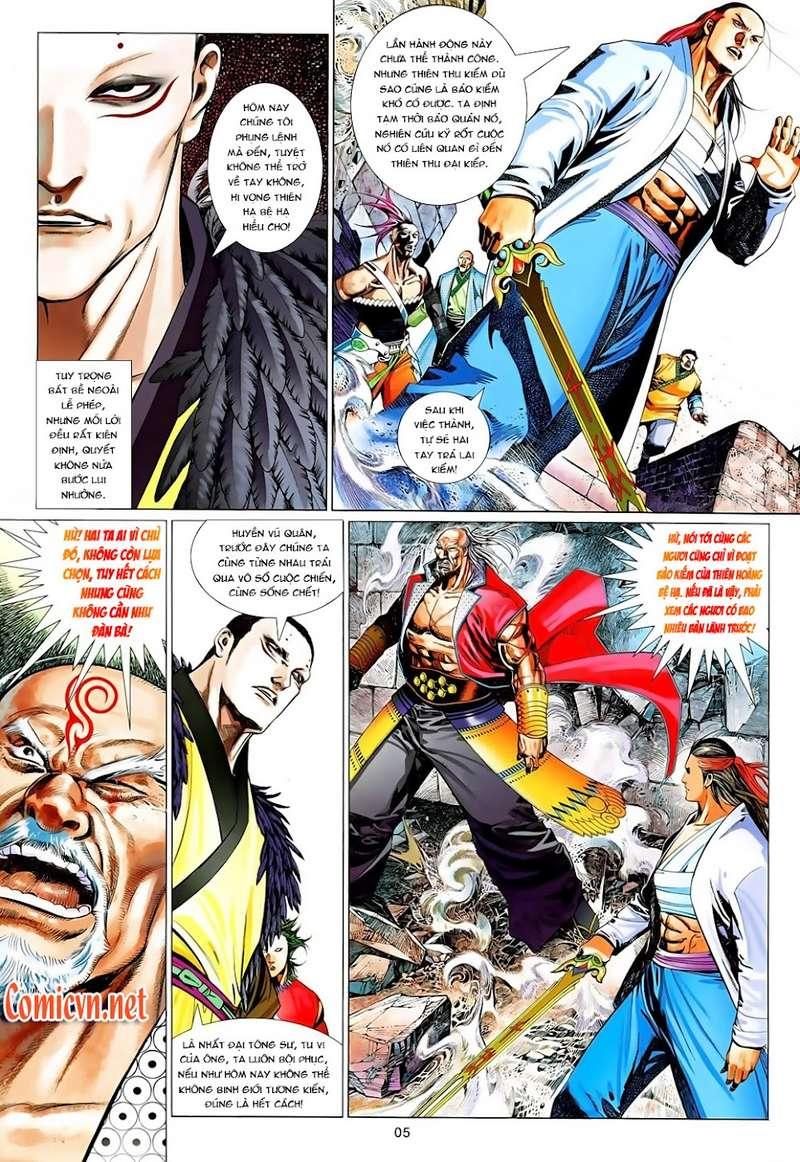 Phong Vân chap 629 Trang 5 - Mangak.info