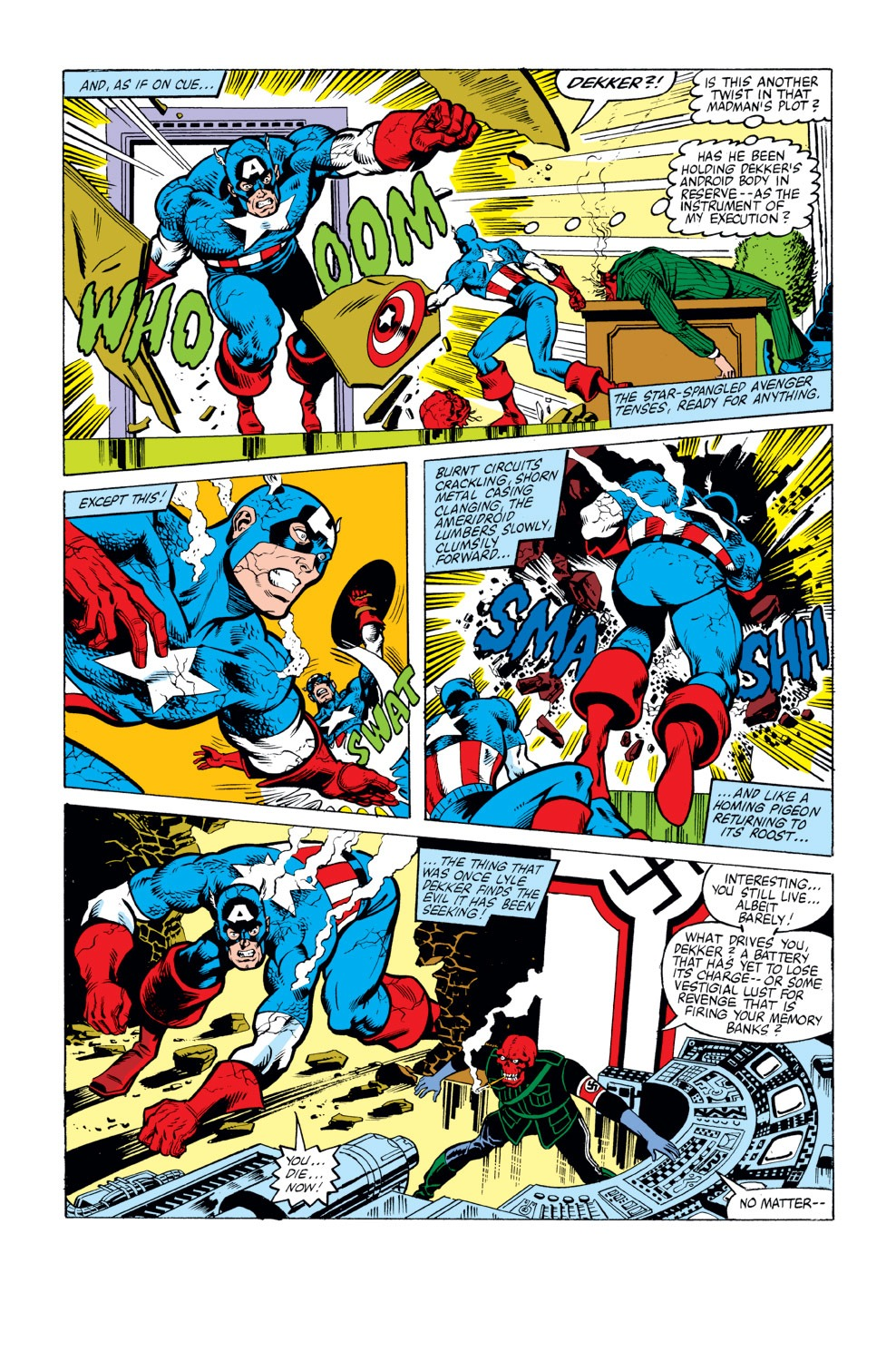 Captain America (1968) Issue #263 #178 - English 19