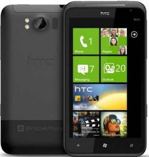 HTC Titan Windows Phone 7 Mango Phone