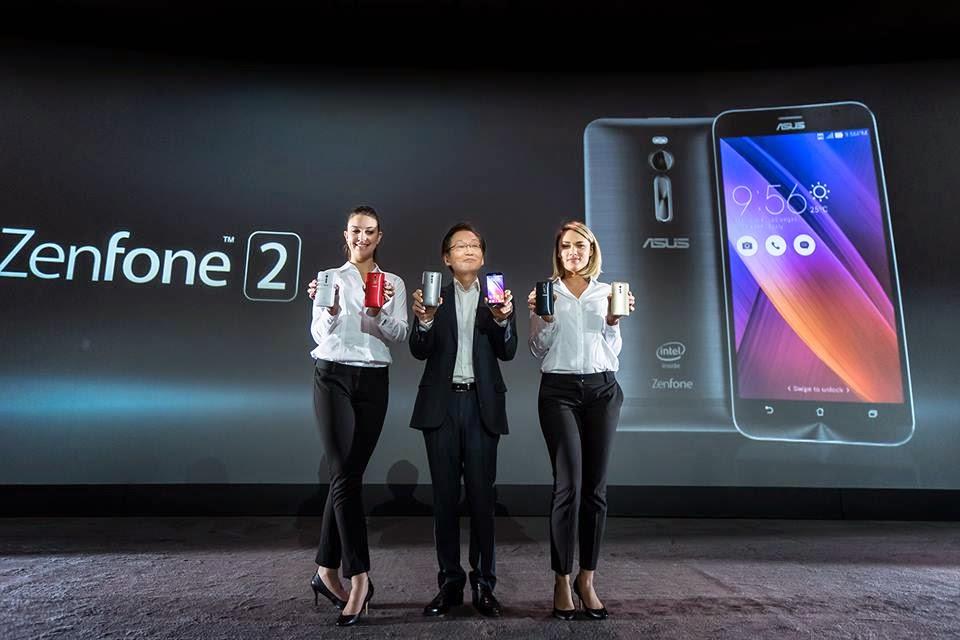 Harga Asus Zenfone 2 & Spesifikasi Lengkap Terbaru 2015