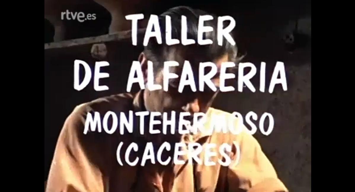Taller de alfarería. Montehermoso (Cáceres)