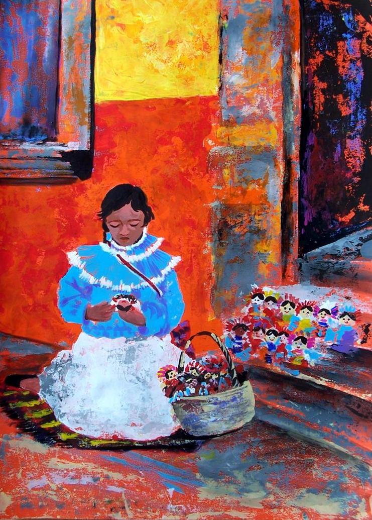 Painting by Cristiana Marinescu